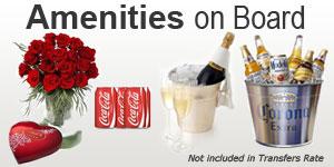 cancun airport transfers amenities
